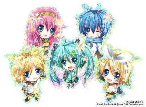 Vocaloid Chibis!