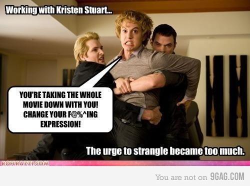Working with Kristen Stewart
