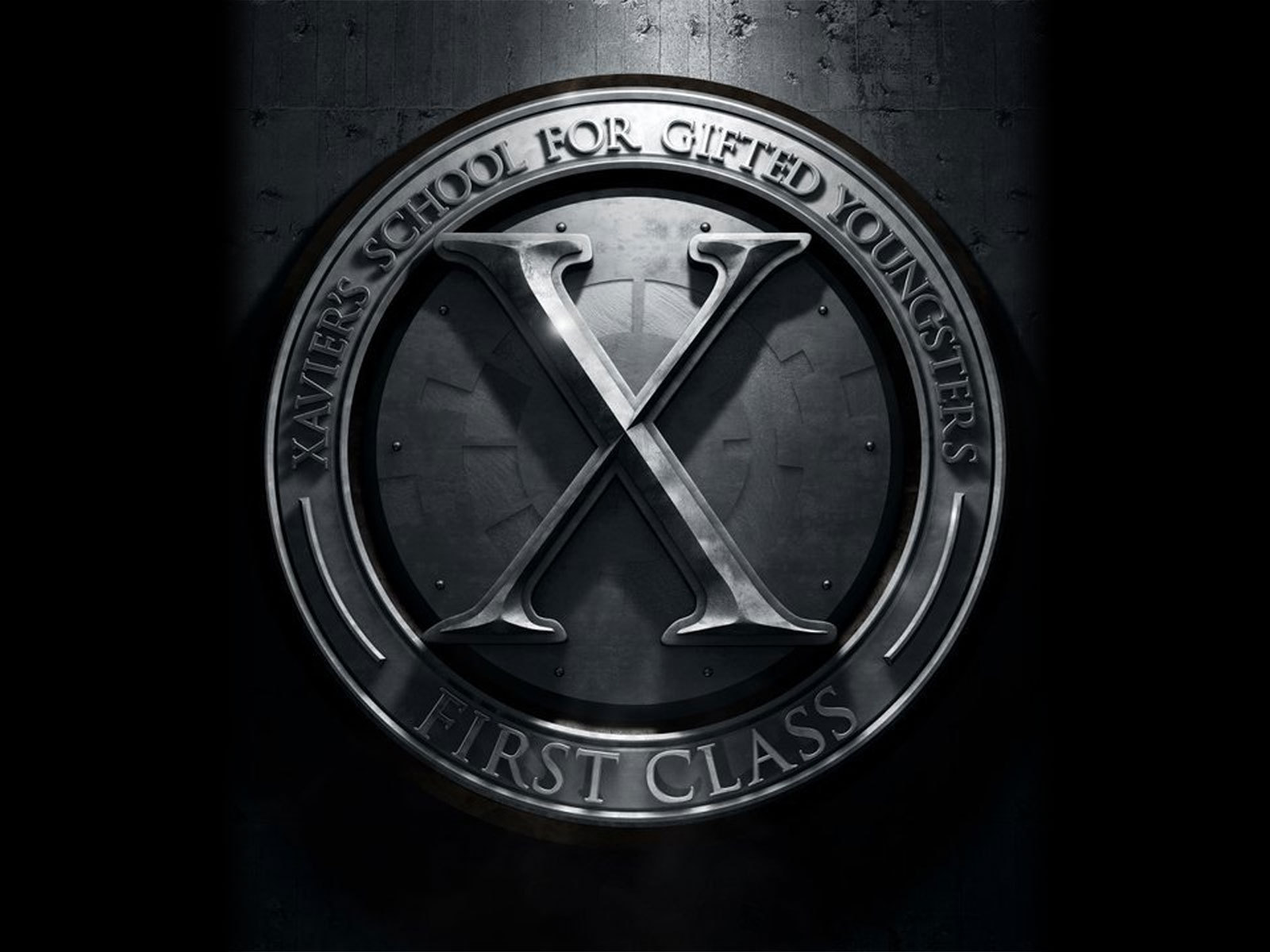 Men  First Class X-Men First Class LogoX Men Logo Wallpaper