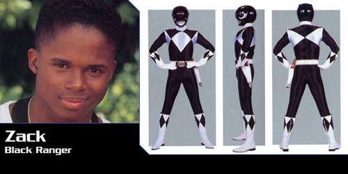 Mighty Morphin Power Rangers wallpaper probably containing a business suit and a sign titled Zack