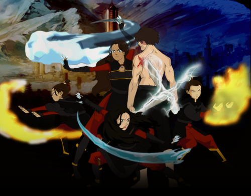 Zutara: Of Fire and Water wallpaper titled Zutara family