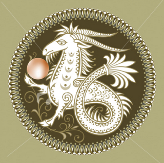 Capricorn wallpaper possibly containing a triskelion called capricorn