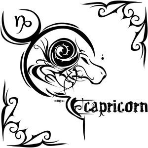 Capricorn wallpaper possibly with a venn diagram titled capricorn