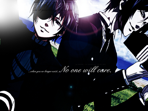 Ciel Phantomhive wallpaper probably containing anime called ciel Phantomhive