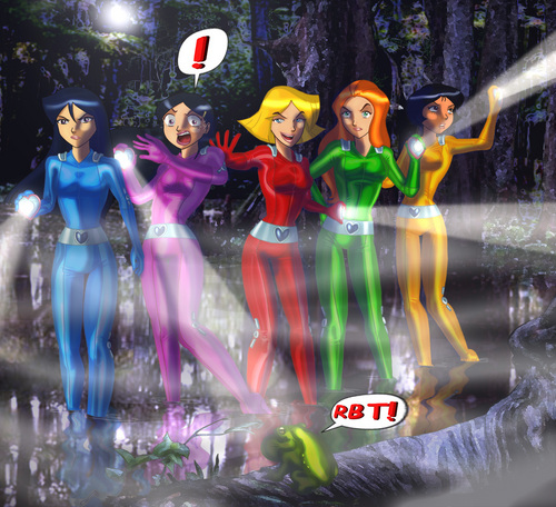 evil swamp much? - totally-spies Fan Art