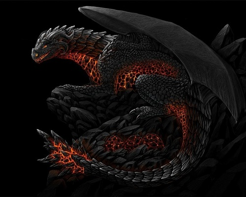 Dragons wallpaper titled flame Dragon