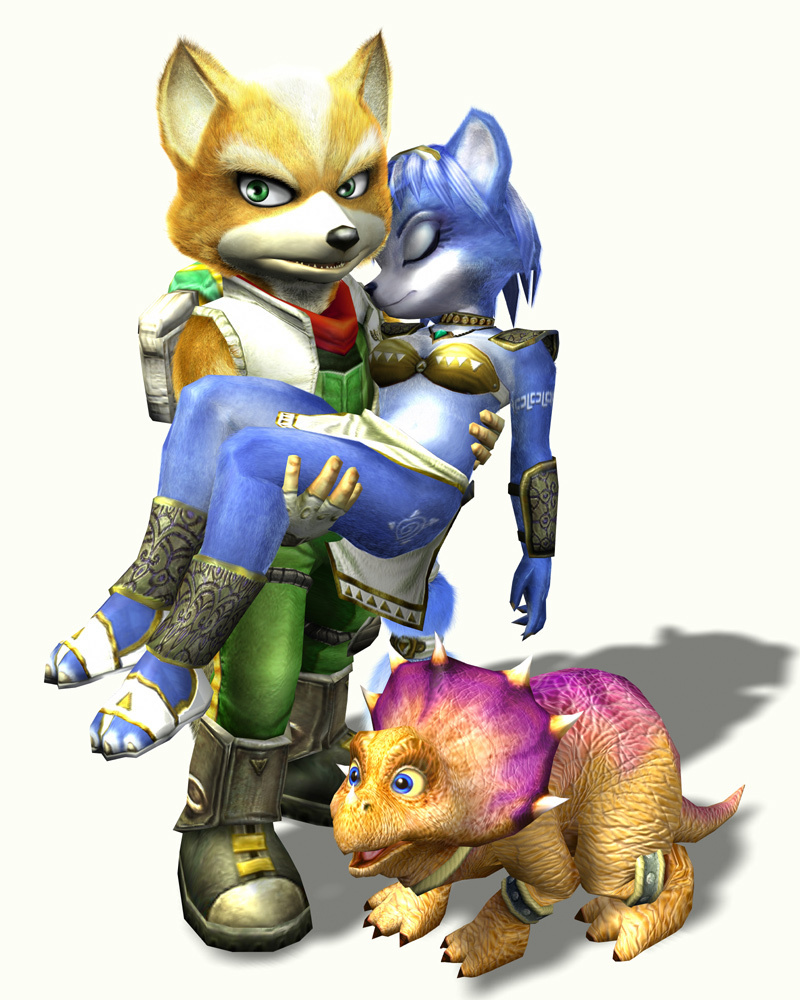 Fox mccloud images fox krystal tricky hd wallpaper and background
