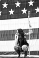 miley,the flag,the party and the USA...<3 - united-states-of-america photo