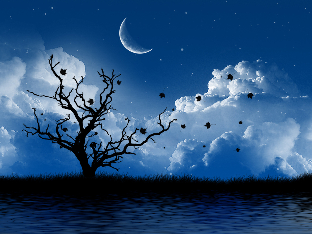 pretty moon wallpapers - photo #30