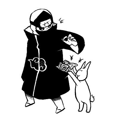 stuiped bunny