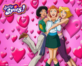 totally-spies - wallpapers wallpaper