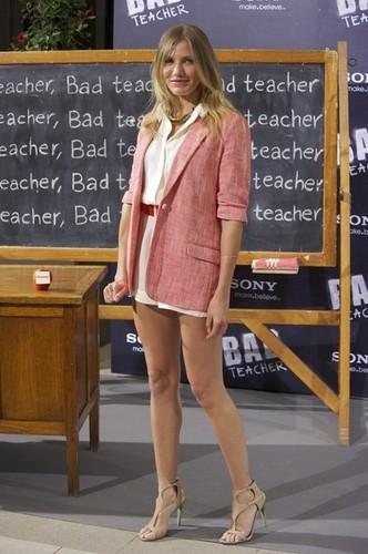 'Bad Teacher' Madrid Photocall.