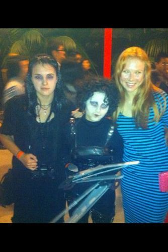molly quinn achtergrond called @ The Tim burton After Dark Teens Only Event