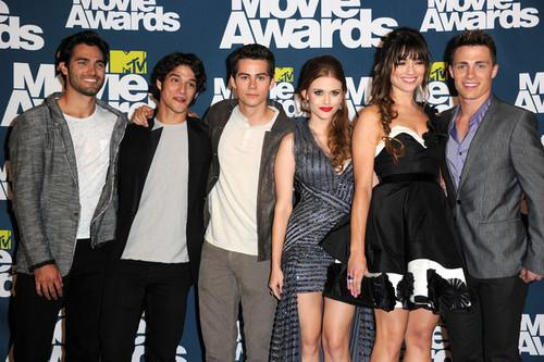 2011 एमटीवी Movie Awards - Press Room