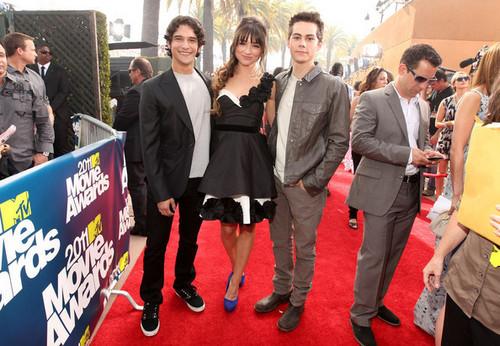 2011 एमटीवी Movie Awards - Red Carpet