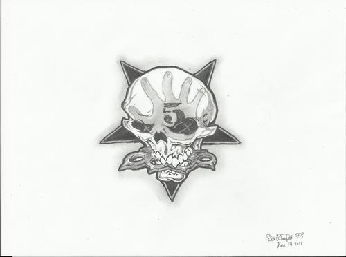 Five Finger Death punch, punzone wallpaper entitled 5FDP