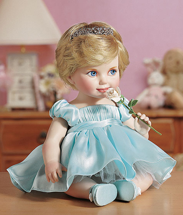 A doll of Princess Diana