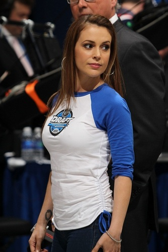Alyssa - NHL Draft - Round One, June 25, 2010