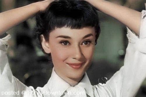 Angelic Audrey Hepburn