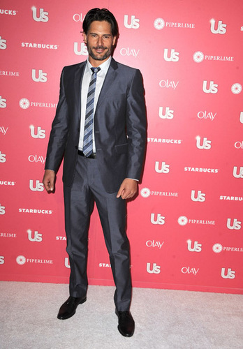 Joe Manganiello wallpaper with a business suit, a suit, and a three piece suit titled April 26: Us Weekly Hot Hollywood Party