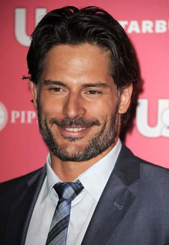 Joe Manganiello wallpaper containing a business suit, a suit, and a three piece suit titled April 26: Us Weekly Hot Hollywood Party