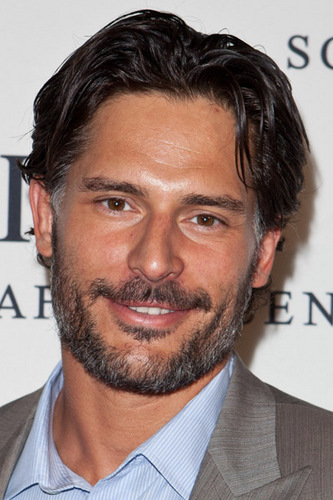 "Joe Manganiello 壁纸 with a business suit, a suit, and a 细条纹 titled April 28: IWC Schaffhausen Presents ""Peter Lindbergh's Portofino"""