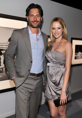 "Joe Manganiello wallpaper with a business suit, a suit, and a dress suit called April 28: IWC Schaffhausen Presents ""Peter Lindbergh's Portofino"""