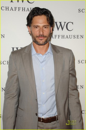 "Joe Manganiello wallpaper with a business suit, a suit, and a three piece suit called April 28: IWC Schaffhausen Presents ""Peter Lindbergh's Portofino"""