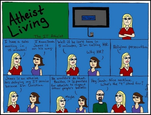 Atheist Living: What Does the T Stands For?