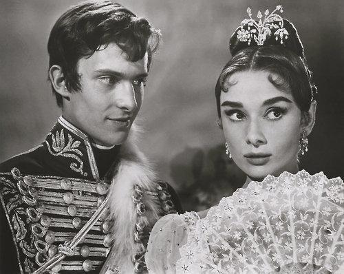 Audrey Hepburn at 'War and Peace'