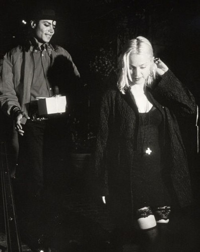 B&W Madonna & Michael