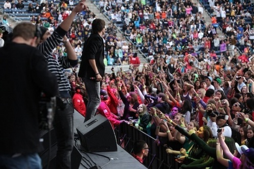 BTR performs at B96 Summer Bash in Chicago