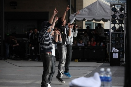 BTR performs at the B96 Summer Bash in Chicago