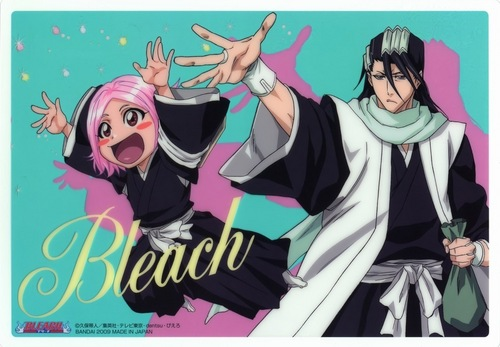BYAKUYA AND YACHIRU