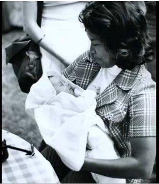 Baby Michael Jackson with Mother ( Katherine Jackson ) ^_____^ [= <3