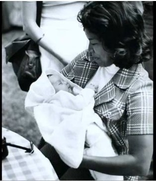 Baby Michael Jackson with Mother ( Katherine Jackson) ^_____^ <3