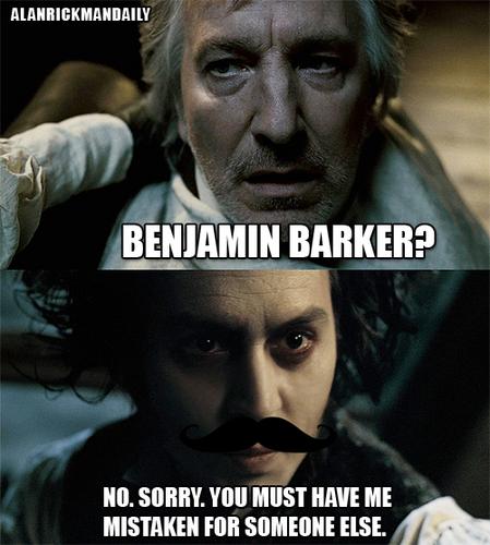 Benjamin Barker?