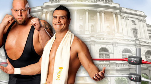 Big ipakita vs Alberto Del Rio-WWE Capitol Punishment