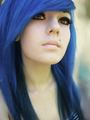 Blue Haired Girls that I found that might possibly be Mena-For Dmitry/Harley/Mena