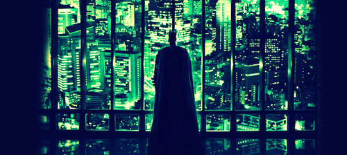 Bruce Wayne wallpaper possibly containing a business district, a skyscraper, and a refinery titled Bruce Wayne