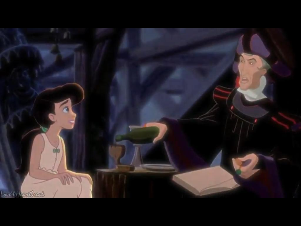 young heroines of disney images crimemelody and frollo hd