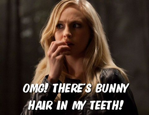 Candice and the bunny hair