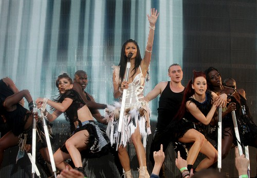 nicole scherzinger wallpaper titled Capital FM's Summertime Ball at Wembley Stadium