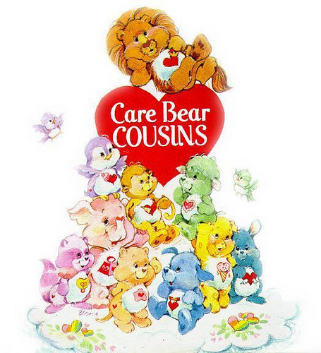 meet the care bear cousins