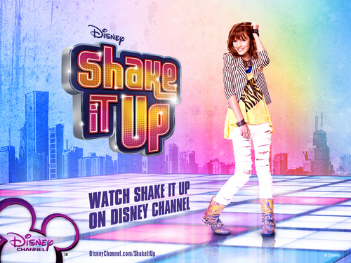 Shake It Up wallpaper possibly containing a hip boot entitled Cece from Shake it Up!
