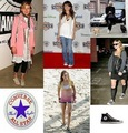 Celebs with converse