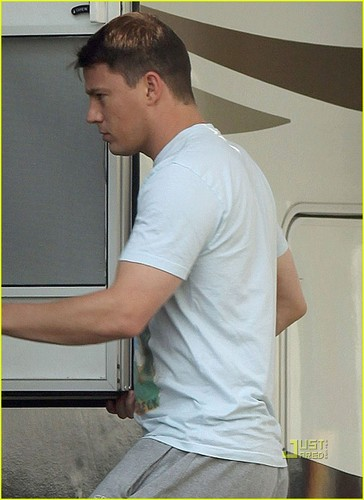 Channing Tatum: '21 Jump Street' Prom Scene on Friday!