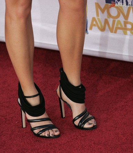Women's Shoes wallpaper possibly with a sandal titled Christina Aguilera High Heels