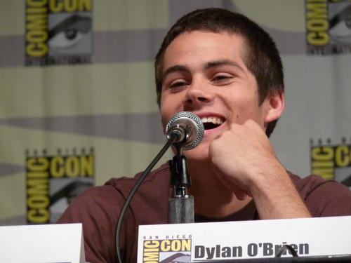 Dylan O'Brien karatasi la kupamba ukuta entitled Comic Con 2010
