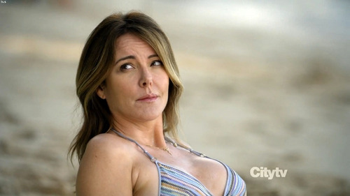 Christa Miller wallpaper probably with a bikini and a portrait entitled Cougar Town s02e21e22